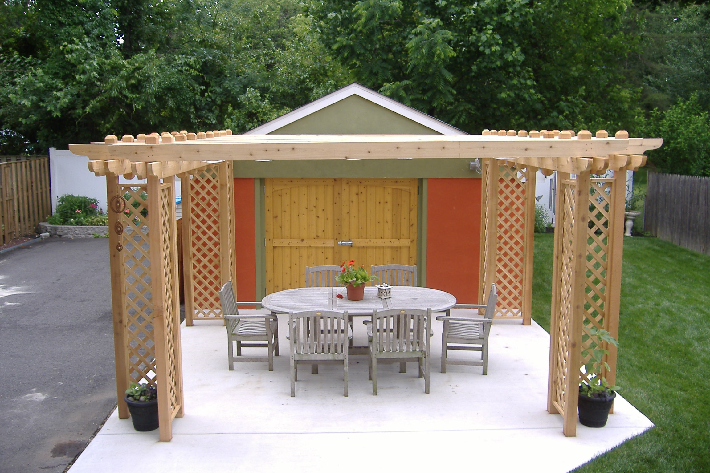 pergolas in south jersey