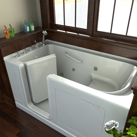 Ck construction llc photo gallery Standard width of bathtub
